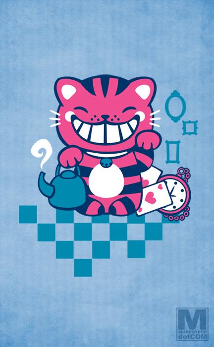 Maneki Cheshire by MeghanMurphy