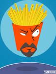 The Zen of Frylock by MeghanMurphy