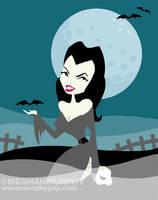 Spooky Gals: Vampira by MeghanMurphy