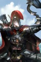Ruby kingdom Archer_ conquer age by paaz70