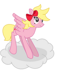 A cherry on a cloud by DerpDoo