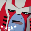 Ratchet Sigh Icon. by KleeAStrange