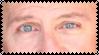 Pauls Blue Eyes Stamp. by KleeAStrange