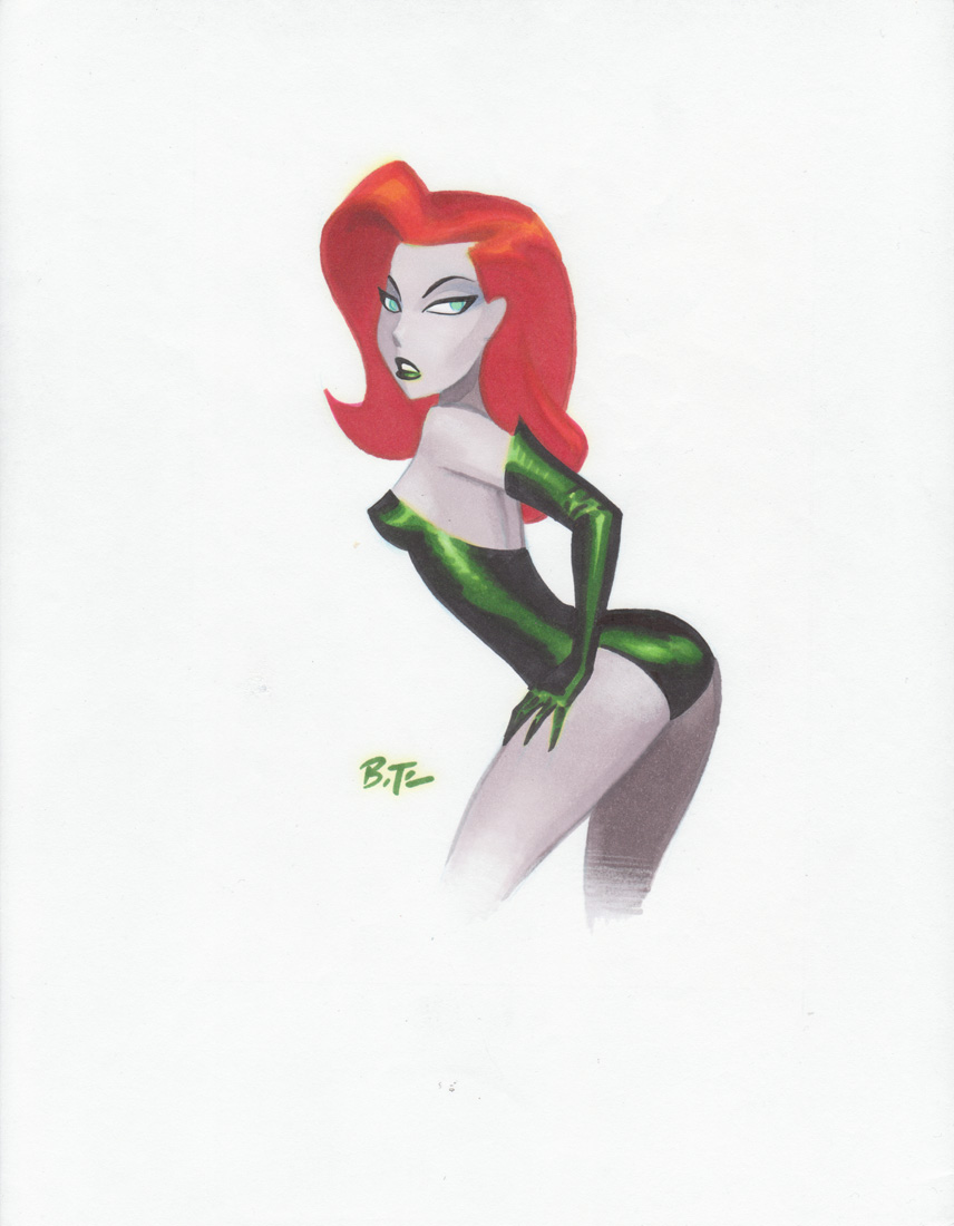 Bruce Timm's Poison Ivy by theirishgrover