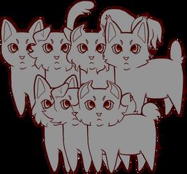 P2U feline base ($5/500pts)
