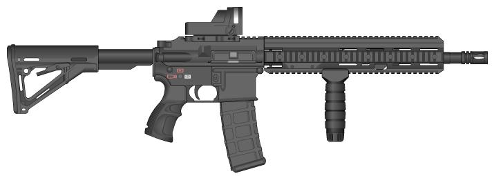 HK-416 Mod. by Tridentkilla on...