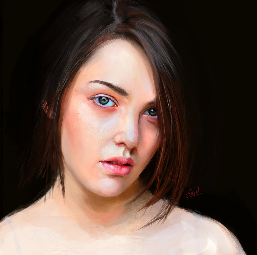 Portait of a Girl by abeermalik
