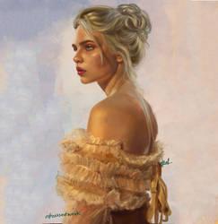 Golden Skin by abeermalik