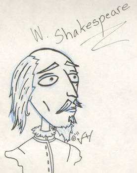 William Shakespeare by LucidArtist83