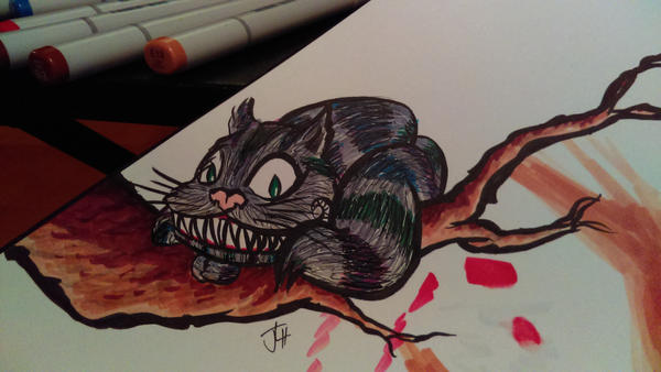 Messing with copics by LucidArtist83