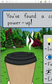 WIP coffee power-up