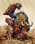 Bronzeback Titan by andreauderzo