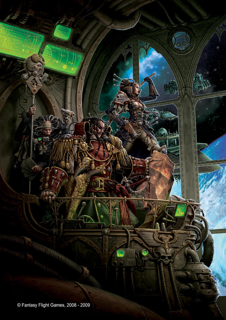 Rogue Trader RPG Cover by andreauderzo