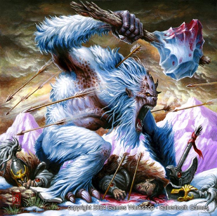 Yeti Neanderthal Man