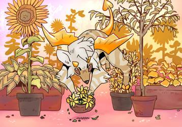 Daffodil Thief by Scheppen