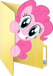 Custom Pinkie Pie folder icon