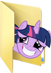 Custom Twilight Sparkle folder icon