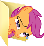 Custom Scootaloo folder icon (derp version)