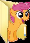 Custom Scootaloo folder icon