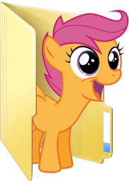 Custom Scootaloo folder icon