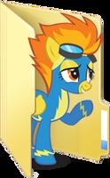 Custom Spitfire folder icon by Blues27Xx