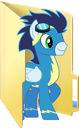Custom Soarin folder icon by Blues27Xx