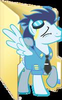 Custom Soarin folder icon 2 by Blues27Xx
