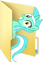 Custom Lyra folder icon by Blues27Xx