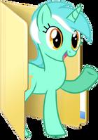 Custom Lyra folder icon 2 by Blues27Xx