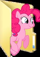 Custom Pinkie Pie folder icon 2 by Blues27Xx