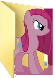 Custom Pinkamena folder icon