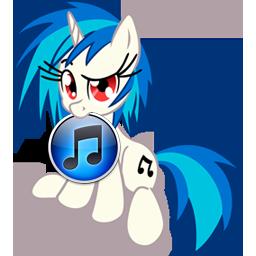 Custom Vinyl Scratch iTunes icon by Blues27Xx