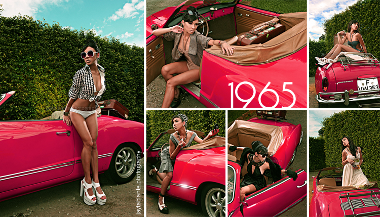 60s Red Car Series 1 by jaytablante