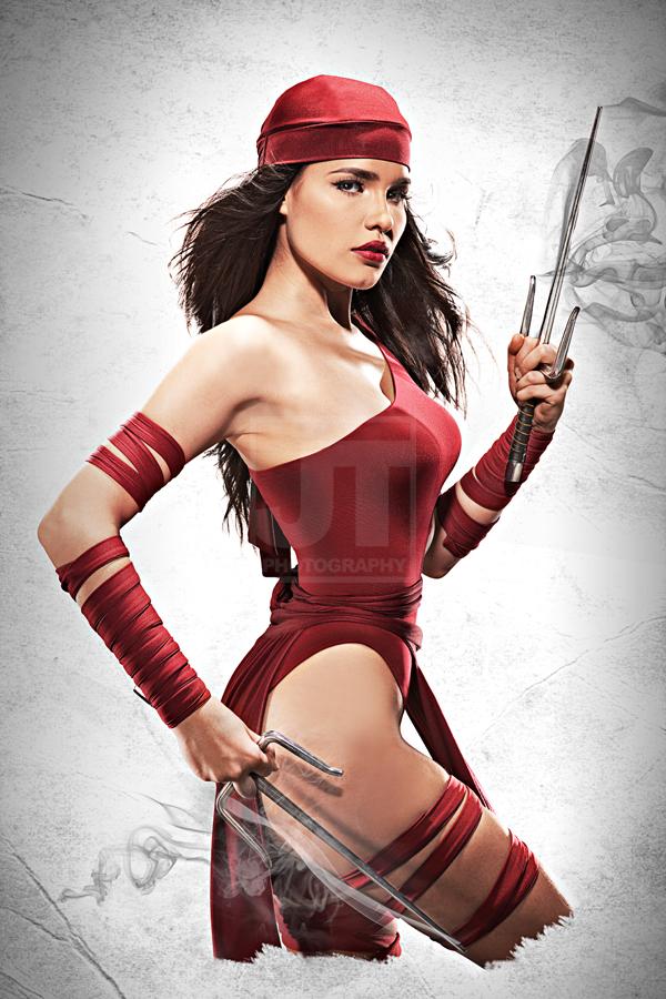 Elektra Natchios Poster Series by jaytablante