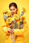 Sunflowers by jaytablante