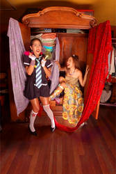 Closet Sisters by jaytablante