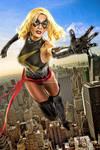 Ms. Marvel in Flight