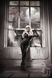 Cat by the Window by jaytablante