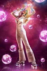 Dazzler in the Disco by jaytablante