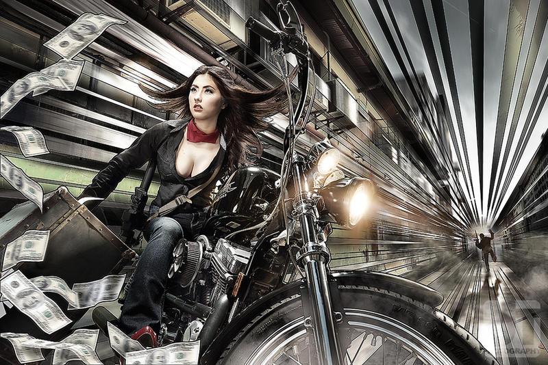 Fujiko Getaway by jaytablante