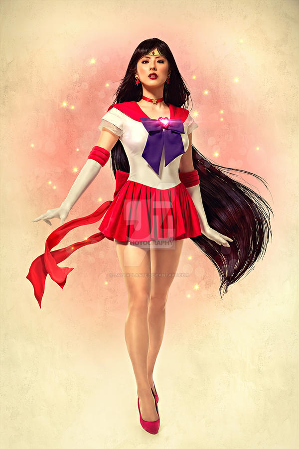 Sailor Mars Pinup by jaytablante