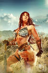 Red Sonja in the Desert
