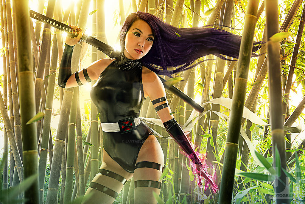 Psylocke Beauty Pose by jaytablante