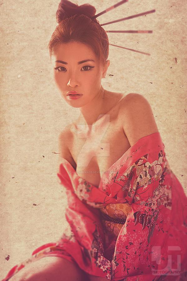 Chelsea in Kimono by jaytablante