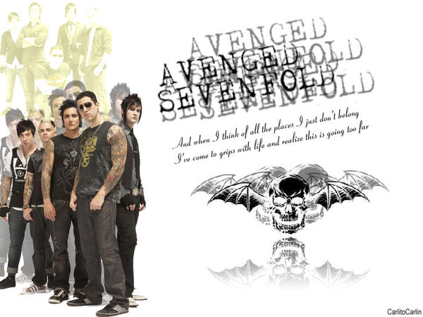 avenged sevenfold wallpapers. Avenged Sevenfold Wallpaper by