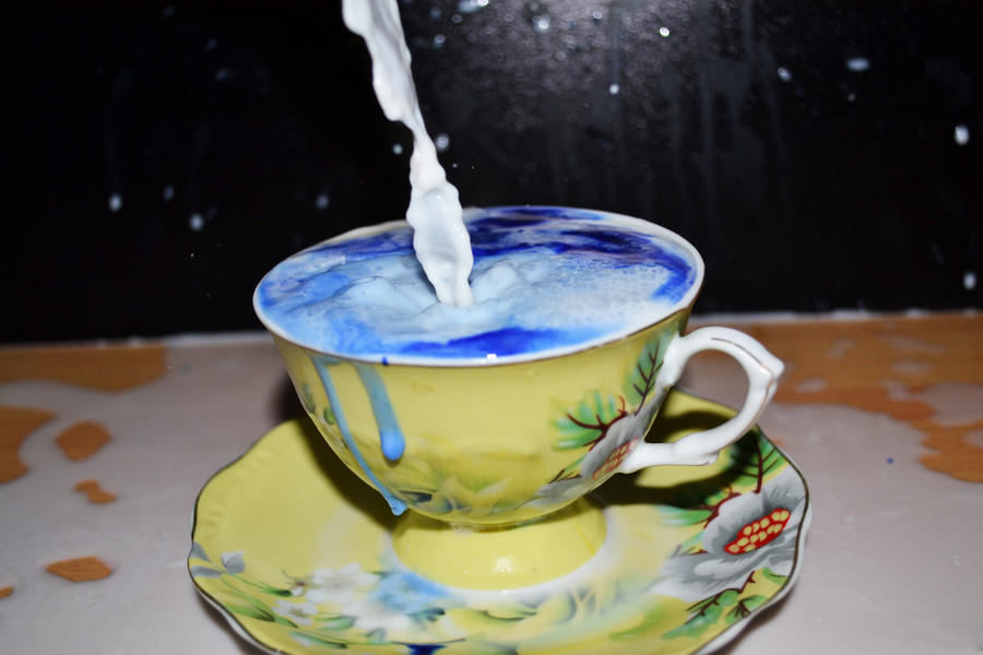Ink Tea by MaithaNeyadi