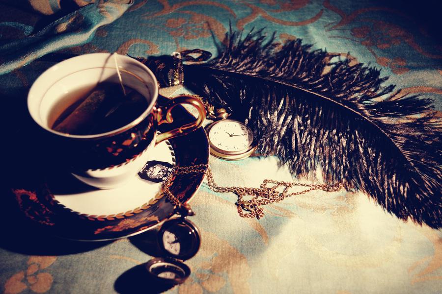 tea time by MaithaNeyadi