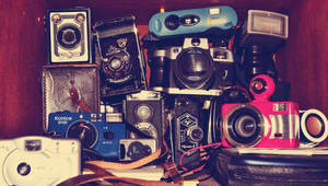 my camera collection :P