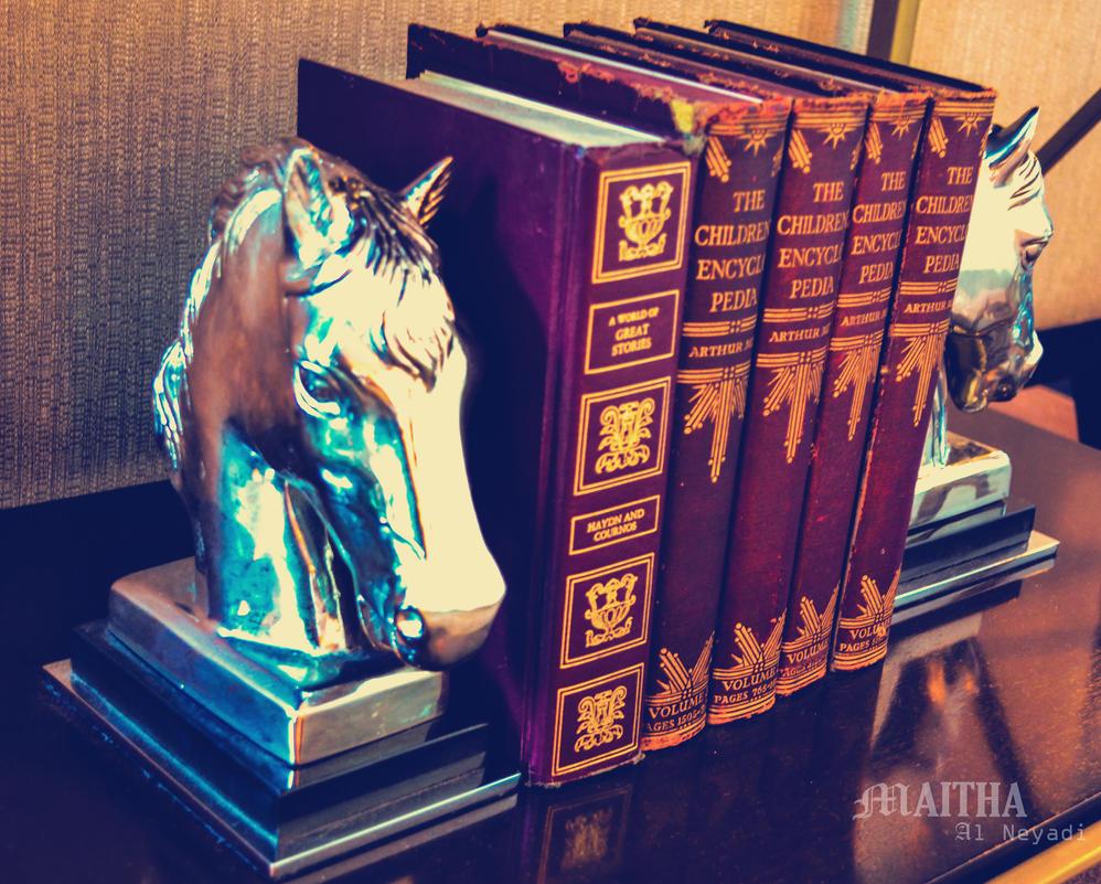 books III by MaithaNeyadi