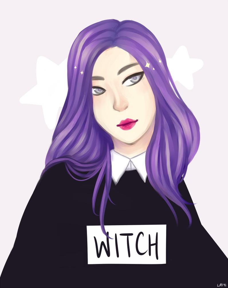 Witch by laiyi